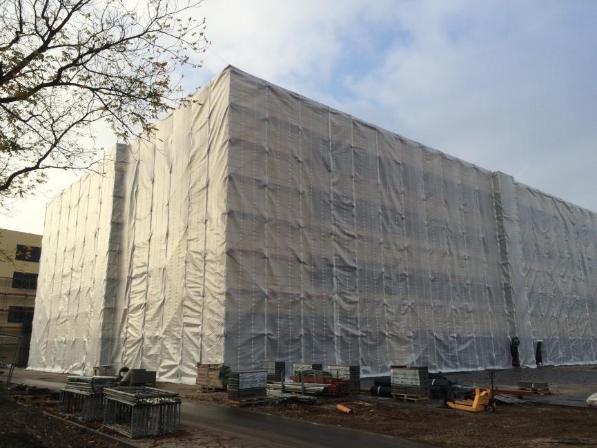 Schutzgerüst Berlin - Steinhagen Gerüstbau